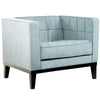 Roxbury Arm Chair In Spa Blue Fabric