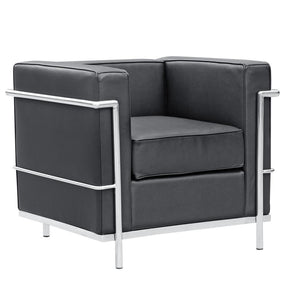 Cube Lc2 Petit Chair Black Armchair