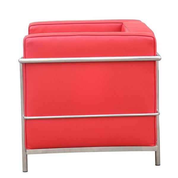 Grand Lc3 Chair Red Armchair