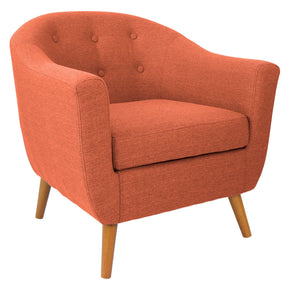 Rockwell Chair Orange Armchair
