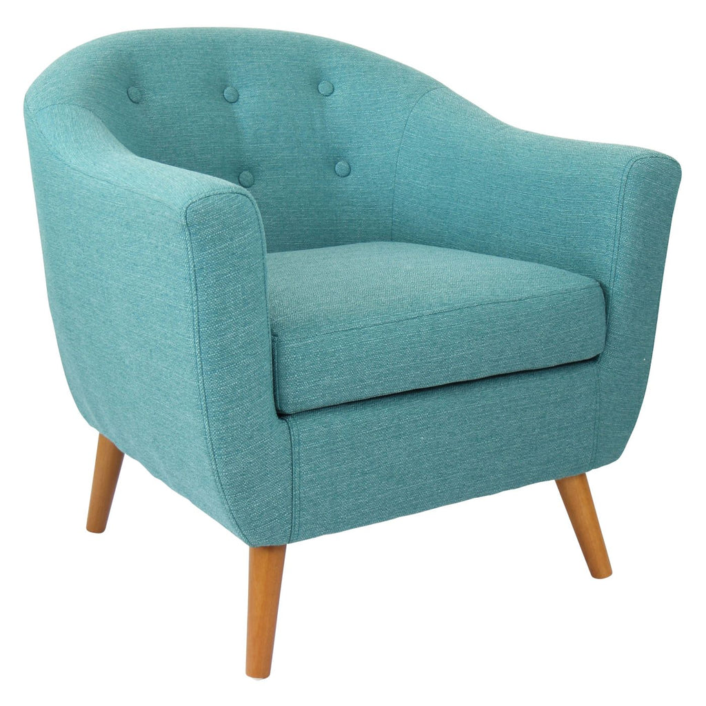 Rockwell Chair Teal Armchair