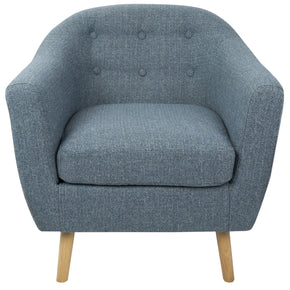 Rockwell Chair Blue Armchair