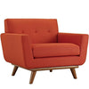 Armchairs - Modway EEI-1178-ATO Engage Upholstered Armchair | 848387017415 | Only $535.25. Buy today at http://www.contemporaryfurniturewarehouse.com