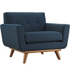 Armchairs - Modway EEI-1178-AZU Engage Upholstered Armchair | 848387017422 | Only $523.75. Buy today at http://www.contemporaryfurniturewarehouse.com