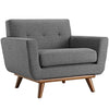 Armchairs - Modway EEI-1178-DOR Engage Upholstered Armchair | 848387017439 | Only $523.75. Buy today at http://www.contemporaryfurniturewarehouse.com