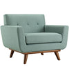 Armchairs - Modway EEI-1178-LAG Engage Upholstered Armchair | 848387039042 | Only $523.75. Buy today at http://www.contemporaryfurniturewarehouse.com