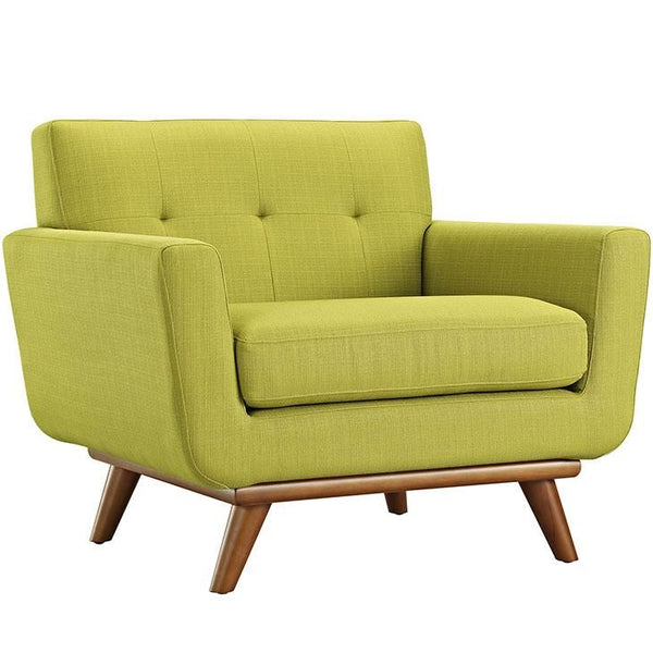 Armchairs - Modway EEI-1178-WHE Engage Upholstered Armchair | 848387017460 | Only $539.25. Buy today at http://www.contemporaryfurniturewarehouse.com