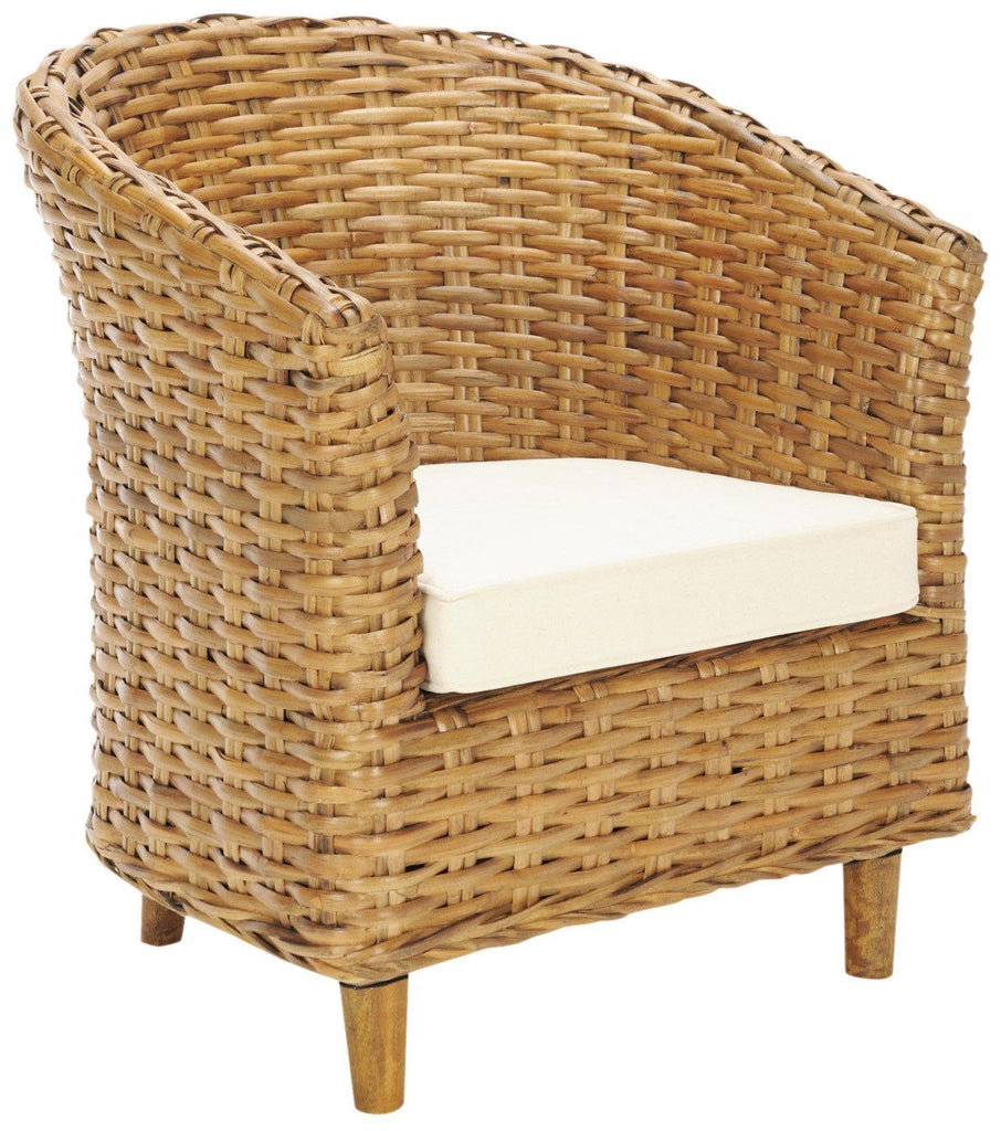 Omni Barrel Chair Honey Armchair