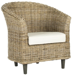 Omni Barrel Chair Natural Unfinished Armchair