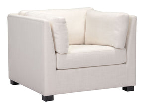 Hayden Arm Chair Beige Armchair