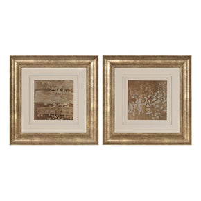 Art - Elk Group ELK-151-014/S2 Golden Rule Shadow Box I, II - Limited Edition Print Under Glass Hand Rubbed Gold Leaf With Antique | 843558128914 | Only $414.00. Buy today at http://www.contemporaryfurniturewarehouse.com