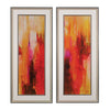Sweet Karma I Ii - Fine Art Giclee Under Glass Black,silver