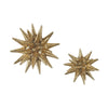 Parsec Gold 4-6 Inch Composite Wall Decor In Art