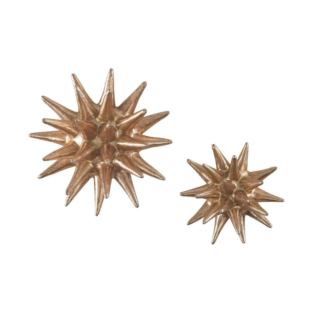 Parsec Gold 4-6 Inch Composite Wall Decor In Copper Art