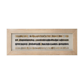Broughton Beach Shadow Box - Large Bleached Woodtone Art
