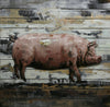 Art, Sale - Moes Home Collection CM-1009-37 Country Pig Wall Decor | 849043074070 | Only $115.00. Buy today at http://www.contemporaryfurniturewarehouse.com