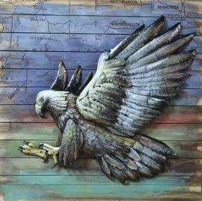 Hawk Wall Décor Art