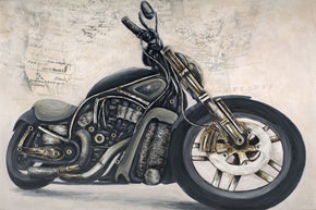 V Rod Wall Decor Art