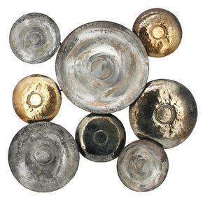 Metal Disc Wall Décor Art