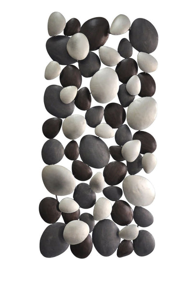 Pebble Wall Decor Iron Art