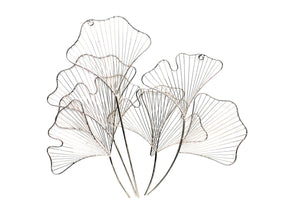 Lily Flowers Wall Art Iron