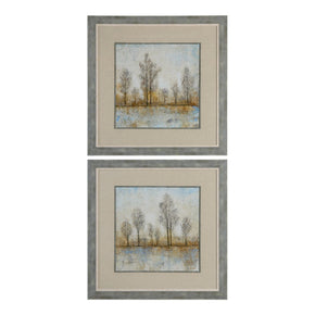 Quiet Nature Landscape Prints S/2 Art