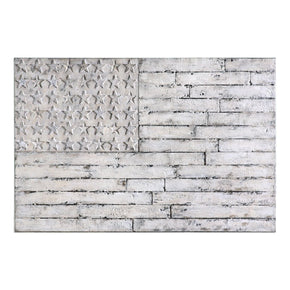 Blanco American Wall Art