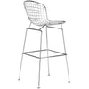 Bar Chairs - EdgeMod EM-129-WHI-X2 Morph Bar Stool in White (Set of 2) | 641061721109 | Only $273.00. Buy today at http://www.contemporaryfurniturewarehouse.com