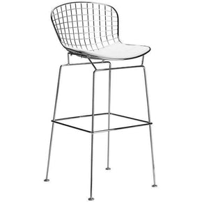 Morph Bar Stool In White (Set Of 2) Chair