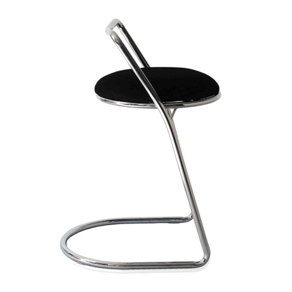 Sled Bar Stool Black Chair