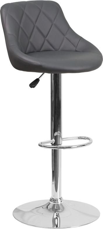 Buy Flash Furniture Ch 82028a Gy Gg Contemporary Vinyl