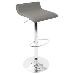 Bar Chairs - Lumisource BS-ALE GY2 Ale Barstool Grey (Set of 2) | 681144427542 | Only $124.62. Buy today at http://www.contemporaryfurniturewarehouse.com