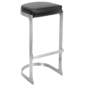 Demi Barstool - Set Of 2 Black Bar Chair