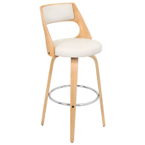 Cecina Barstool Natural Cream Bar Chair
