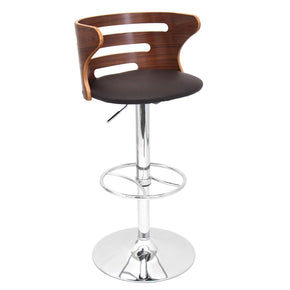 Cosi Barstool Walnut Brown Bar Chair