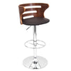 Cosi Barstool Walnut, Brown