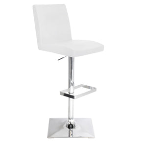 Captain Barstool White Bar Chair