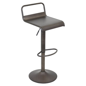 Emery Barstool Antique Finish Bar Chair