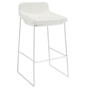 Garner Bar Stool White Chair