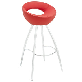 Persist Bar Stool Red Chair