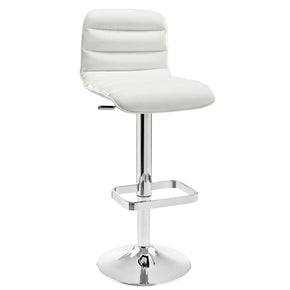 Ripple Bar Stool White Chair