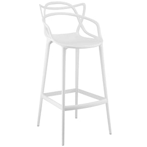 Entangled Bar Stool White Chair