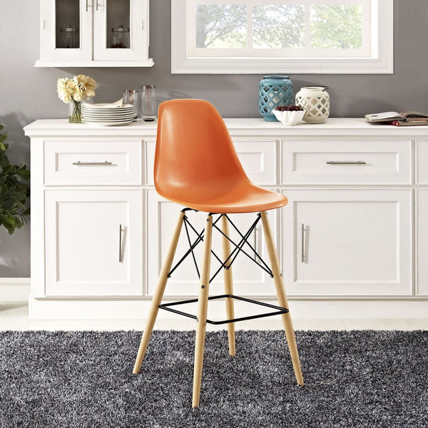 Modway Bar Chairs On Sale Eei 1701 Whi Pyramid Mid