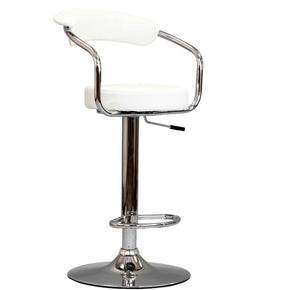 Diner Bar Stool White Chair