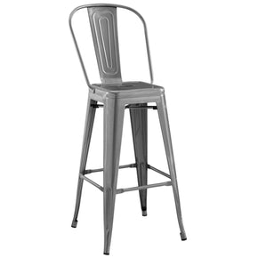 Bar Chairs - Modway EEI-2815-GME Promenade Metal Bar Side Stool | 889654110507 | Only $100.00. Buy today at http://www.contemporaryfurniturewarehouse.com