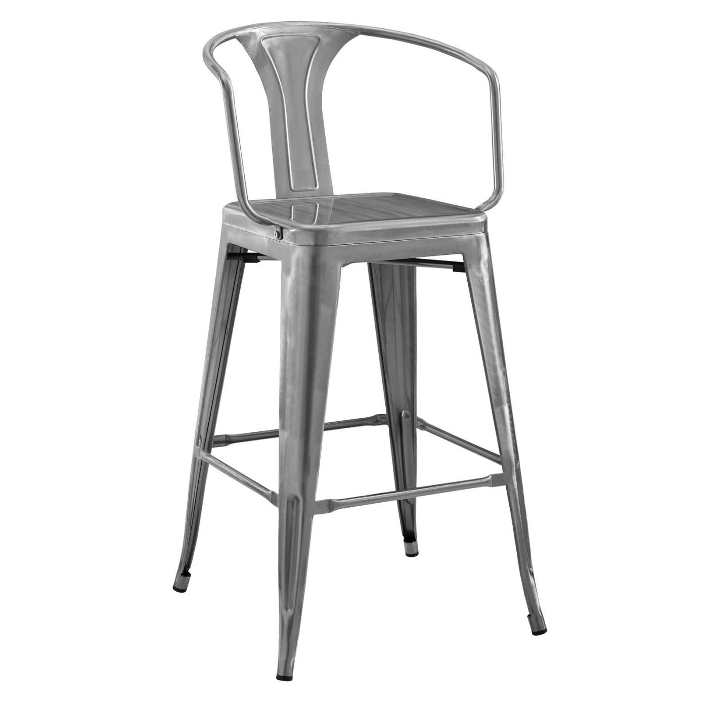 Modway Bar Chairs On Sale Eei 2817 Blk Promenade Cafe And