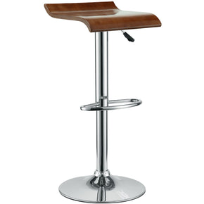 Bar Chairs - Modway EEI-578-OAK Bentwood Bar Stool Oak Veneer | 848387026202 | Only $74.25. Buy today at http://www.contemporaryfurniturewarehouse.com