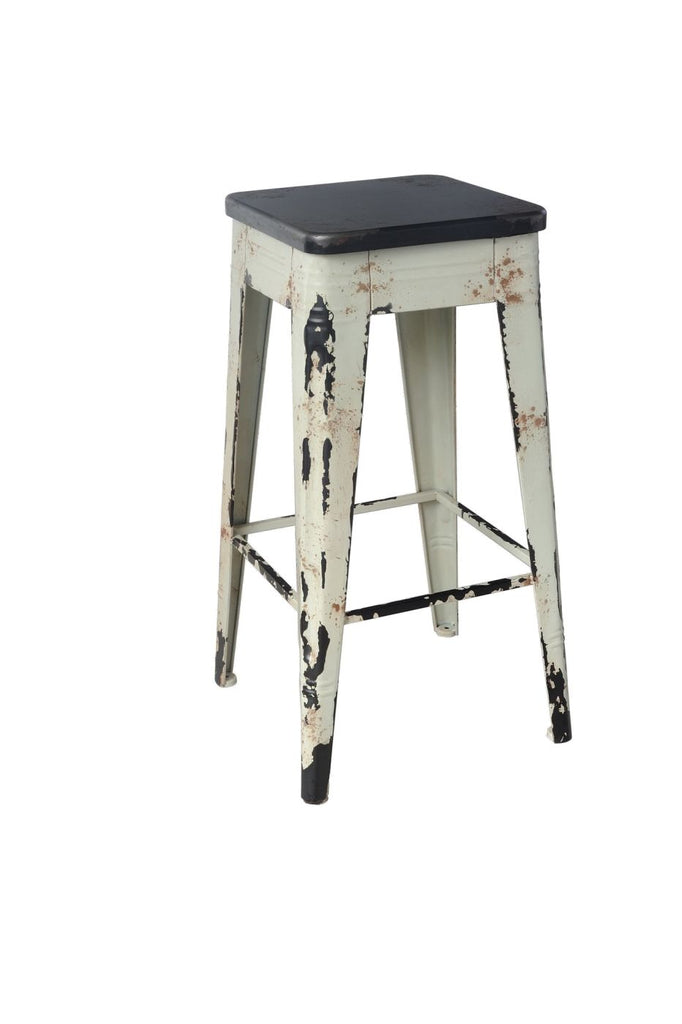 Sturdy Bar Stool White Chair