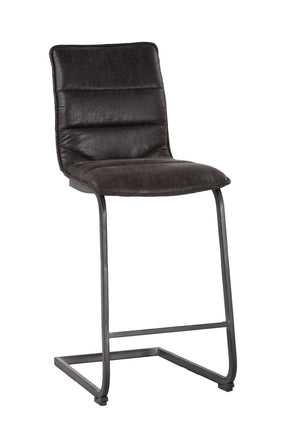 Radiant Barstool Black-Set Of Two Bar Chair