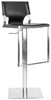 Armondo Gas Lift Swivel Barstool Black